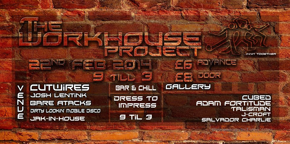 The Workhouse Project Big Birthday Bash